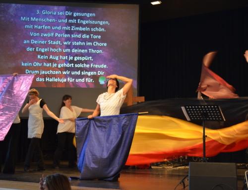 Movement in Worship bei Wächtergebetskonferenz Deutschland