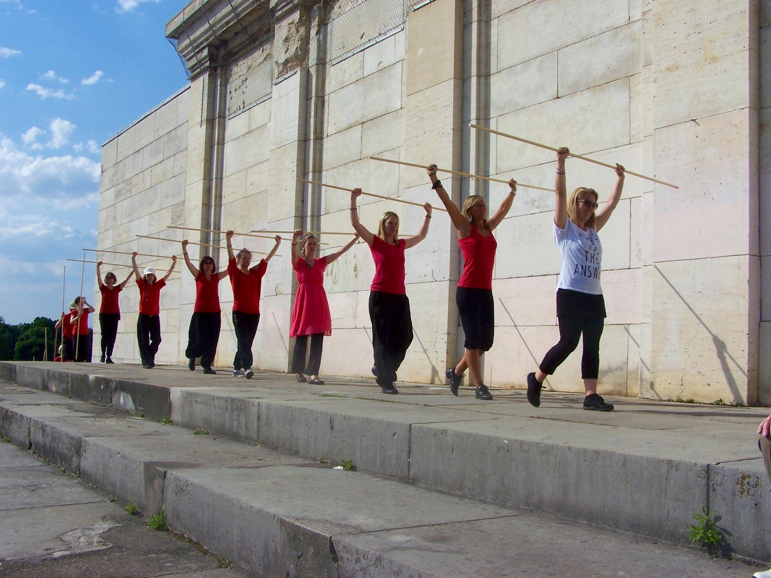 Tanz auf den Strassen Deutschlands/Fürbitte in den Toren,  Augsburg – 2./3. Juli